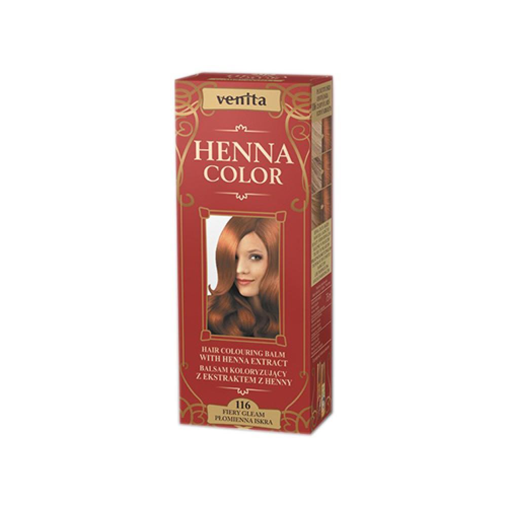 Venita HENNA COLOR NO116 Λαμπερό Της Φωτιάς