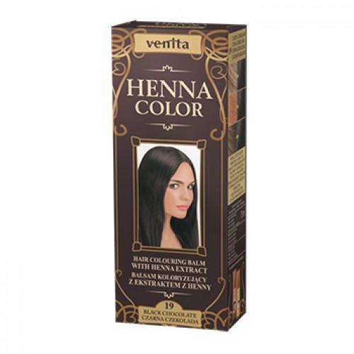 Venita HENNA COLOR NO19 Μαύρη Σοκολάτα