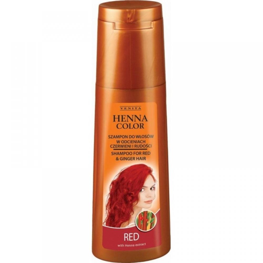 Σαμπουάν Χρώματος Χέννα Venita - Henna Color Shampoo - Κόκκινο